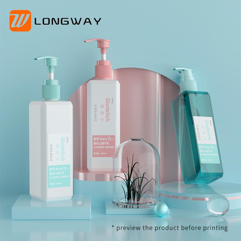 screw lotion pump bottle