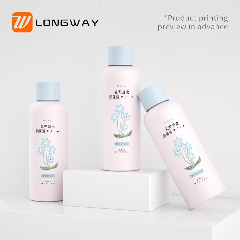 skin care liquid pet bottle