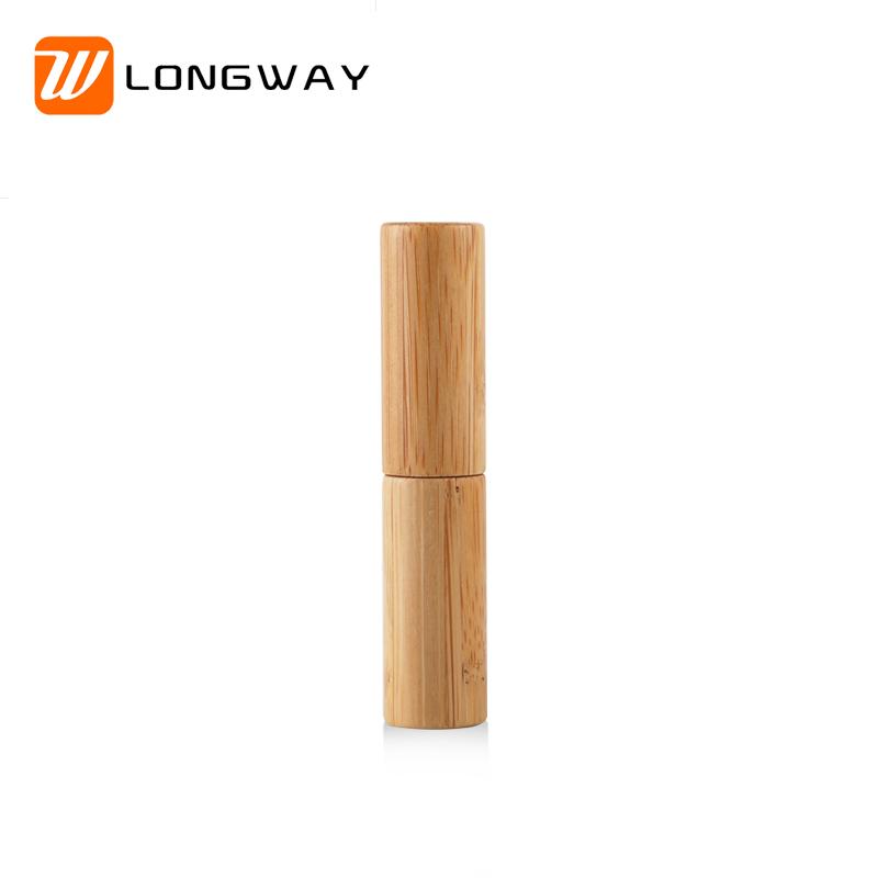 4g cosmetic bamboo lip tube