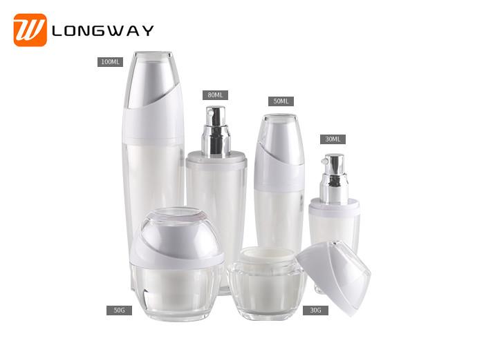Plastic Cosmetic Serum Bottles