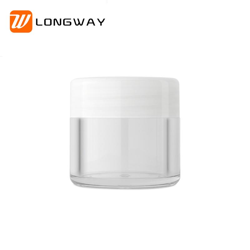 AS transparent cream jar1