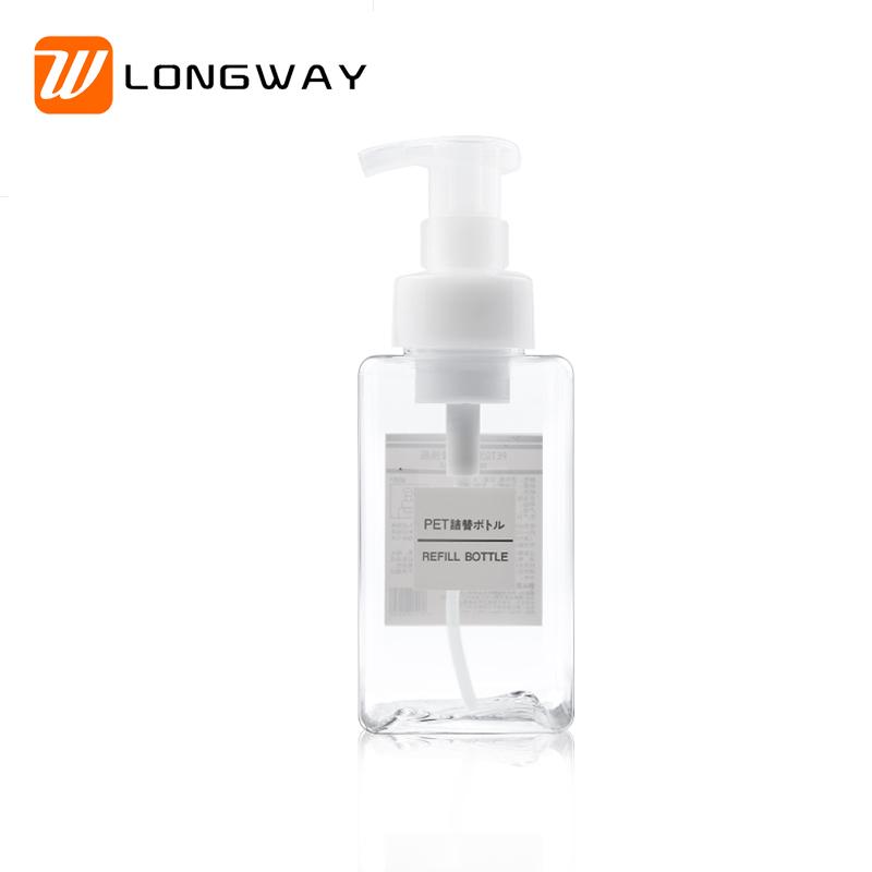 450ml square  hand sanitizer