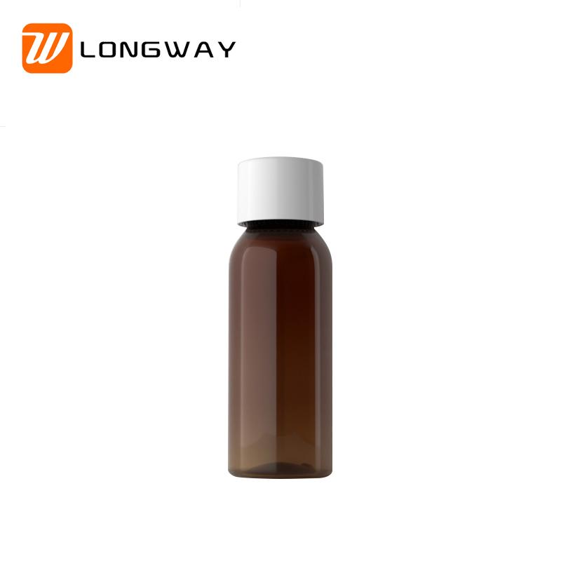 100ml round shoulder bottle